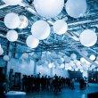 Потолок из воздушных шаров