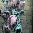 Мраморные воздушные шары ручной работы