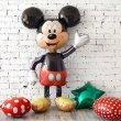 Оформление шарами в стиле Микки и Минни Маус