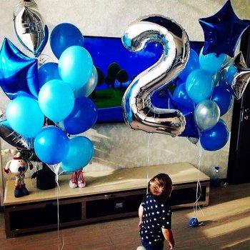 Воздушные шары-цифры
