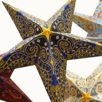 Звезда бумажная