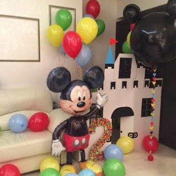 Воздушные шары Микки и Минни Маус