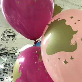 Воздушные шары - единороги