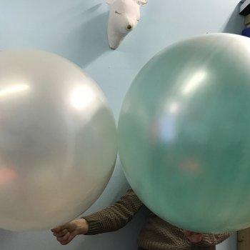 Большие жемчужные шары