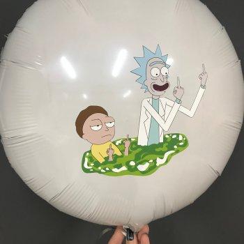 Воздушные шары с героями мультфильмов