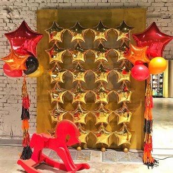 Инсталляция из воздушных шаров
