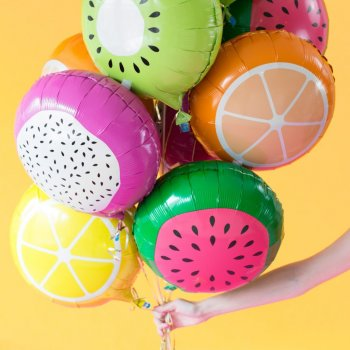 Фольгированные шары-фрукты