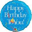 """middle-middle-color-center-center-0-0-0--1485460900.9403 Воздушные шарики """"С Днем рождения"""" Шар """"Birthday boy"""" (46 см)"""