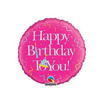 "middle-middle-color-center-center-0-0-0-1485460789.6502 SharikMarket.online - воздушные шары Воздушные шарики ""С Днем рождения"" Шар ""Birthday girl"" (46 см)"