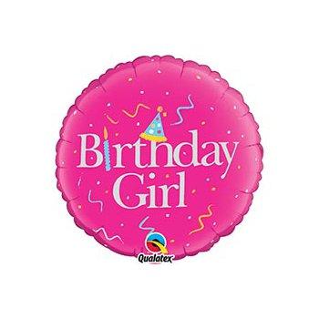 "middle-middle-color-center-center-0-0-0-1485460790.246 SharikMarket.online - воздушные шары Воздушные шарики ""С Днем рождения"" Шар ""Birthday girl"" (46 см)"