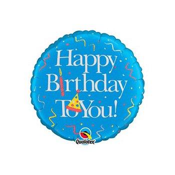 """middle-middle-color-center-center-0-0-0-1485460900.9403 Воздушные шарики """"С Днем рождения"""" Шар """"Birthday boy"""" (46 см)"""