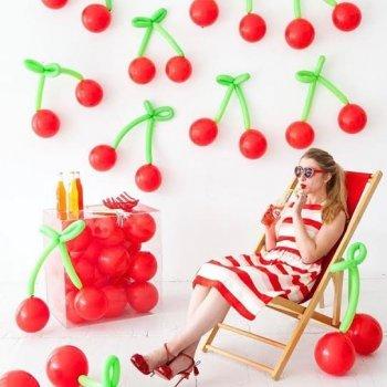 Оформление фотозоны воздушными шариками