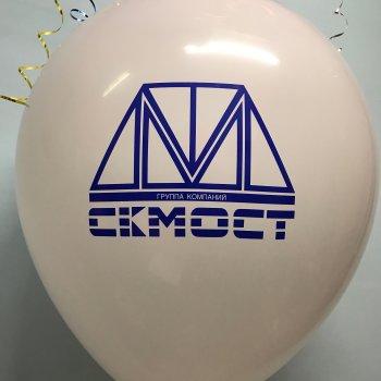 Большие воздушные шары с логотипом