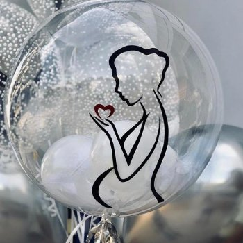 Bubble шар с шариками внутри
