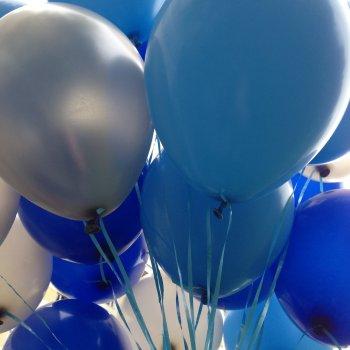 """middle-middle-color-center-center-0-0-0-1600257143.2425 SharikMarket.online - воздушные шары Воздушные шары для мужчины Облако из шаров """"Голубое ассорти"""""""
